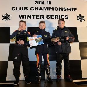 Dexter wins the IAME TVKC Winter Series